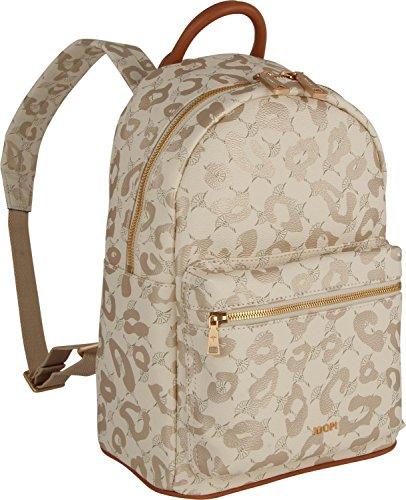 JOOP! Damen Cortina Leo Salome Backpack Mvz Rucksack, Braun (Mud), 15x33x23 cm 101 offwhite