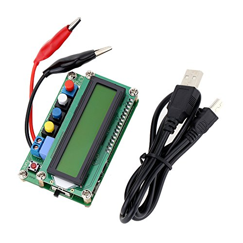 Preisvergleich Produktbild KKmoon Mini LC100-A Digital LCD Hohe Präzision Induktivität Kapazität L / C Meter Kondensator Test USB Schnittstelle