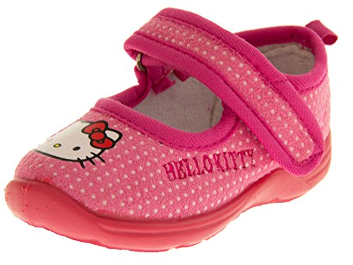 Hello Kitty Bambina Synthetic Chiuse Davanti, Pink Shoes, EU 30