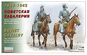 Eastern Express EE35301 1939-1943 - Juego de Modelos de Cavalry soviético