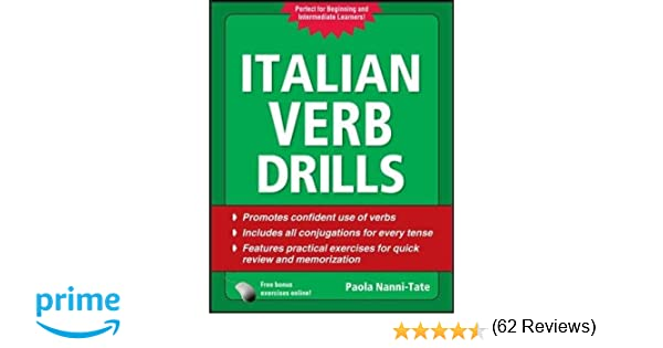 Italian Verb Drills, Third Edition (Drills Series): Amazon.co.uk ...