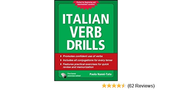 Italian Verb Drills Third Edition Drills Series Amazon