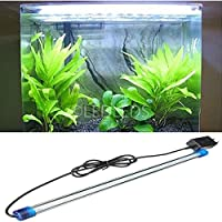 LUCE ACQUARIO PLAFONIERA STRIP 36 LED 40 CM BIANCO NEON ALTA LUMINOSITA 2 WATT