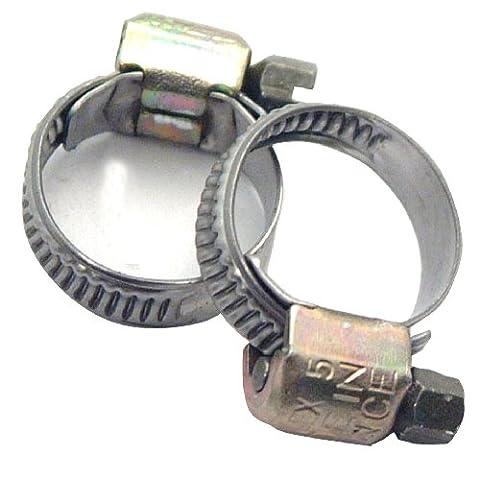 Durite Refroidissement - Cartec 212025 2 Colliers de Serrage 8-12