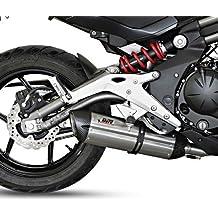 Escape Mivv Suono Kawasaki ER-6n 12-16 Full System Acero inoxidable/Carbono