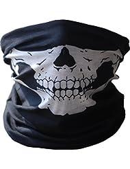 Masque de Crâne Bandana Bandeau Cyclisme Motocyclette Cou Visage Paintball Ski Sport Vélo