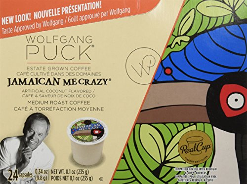 Wolfgang Puck Coffee, Jamaican Me Crazy, 24-Count K-Cups for Keurig Brewers (Pack of 2) by Wolfgang Puck