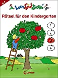 Rätsel für den Kindergarten (LernSpielZwerge - Mal- und Rätselblocks)