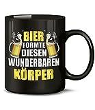 BIER FORMTE DIESEN WUNDERBAREN KÖRPER 4862(Schwarz)