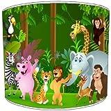 Premier Lighting Zoo Jungle Animals Abat-Jour pour Enfants - 12 inch pour Une Lampe de Table