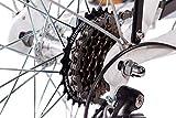 CHRISSON 28″ Zoll CITYRAD ALU Fahrrad E-Bike PEDELEC E-Gent mit 7G Shimano Weiss 53cm- 71,1 cm (28 Zoll) - 7