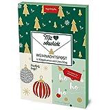 Mit Herz verschickt – klassische Weihnacht: Weihnachtspost – 12 Klappkarten mit Umschlag (monbijou)