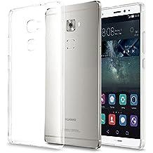 Huawei Mate S Custodia, KKtick® UltraSlim TPU Case Cover per Huawei Mate S Custodia Chiaro Trasparente Ultra Sottile Silicone Gel