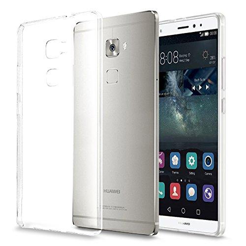 Huawei Mate S Hülle, KKtick Huawei Mate S UltraSlim Hülle TPU Durchsichtig Crystal Clear Case Weiches Silikon Schutzhülle Tasche Bumper Cover Handyhülle fürr Huawei Mate S