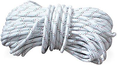 Correa de anclaje Ø 8 mm o Ø 10 mm cada 30 m de largo, con dedal, poliéster