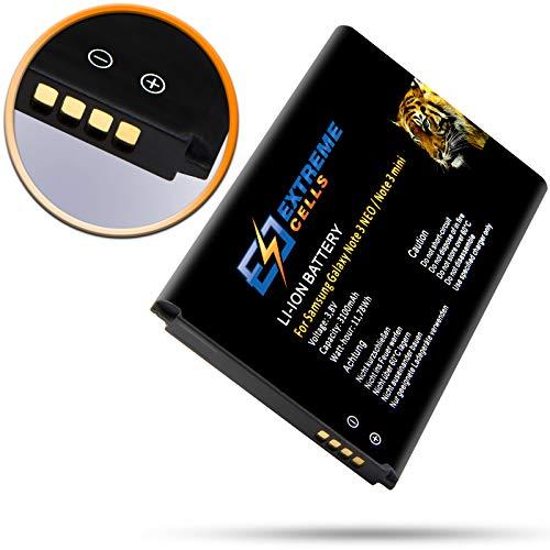 Extremecells Mini batteria di ricambio per Samsung Galaxy Note 3Neo SM-N7505