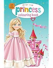 Princess - Giant Colouring Books