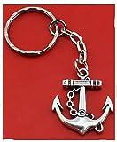 Anker Schlüsselanhänger 3cm Metall - 2