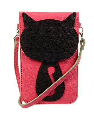 KISS GOLD (TM) Couleur Bonbon Mini Sac Bandoulière/Sacoche Téléphone PU Cuir pour IPhone/Samsun/HTC