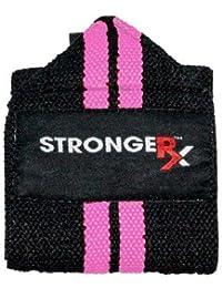 StrongerRx Oly Wraps (Envolturas de levantamiento olímpico) (rosa)
