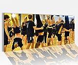 Acrylglasbild 100x40cm Sport Kopfstand Aerobik Gymnastik Frauen Fitness Gesundheit Acrylbild Acryl Druck Acrylglas Acrylglasbilder 14A8776, Acrylglas Größe1:100cmx40cm