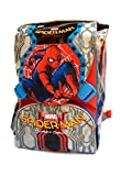 Zaino Spiderman Homecoming new 2017 - zaino sdoppiabile Big Seven - Pattina Sfogliabile - 28 Lt - Schoolpack + ASTUCCIO 3 Scomparti + Maschera Spiderman