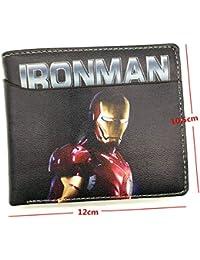 871ff472 SWVV Nuevo diseño Marvel Cartera la héroe de los Vengadores de Hierro  Hombre/Hombre araña