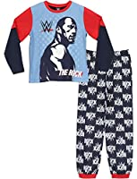 WWE Boys WWE Pyjamas The Rock Ages 4 to 12 Years