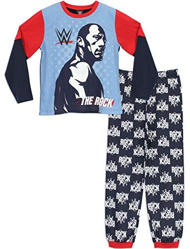 wwe-pijama-para-ninos-wwe-the-rock-8-9-anos