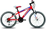 Legnano 20 Zoll Jungen Mountainbike Twister 12 Gang, Farbe:Rot-Blau-weiß