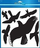 Avery Zweckform 4485 Warnvögel 28x18, 8x5,5cm, schwarz, wetterfest (3er Pack)
