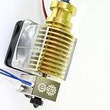 echtem E3D V6Gold Limited Edition Hot End gehärtetem Stahl Düse Prusa i3RepRap 3D Drucker Full Kit–1,75mm (12V)