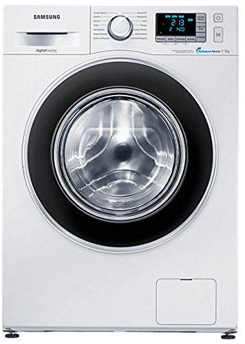 Samsung WF80F5EB Waschmaschine Frontlader / A+++ / 1400 UpM / 8 kg / Weiß / Smart Check Mengensensor / Digitaler Inverter Motor