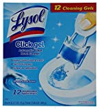12 Pack Lysol Click Gel Automatic Toilet...