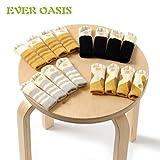 4 Stuhl Socken (1 Set) - Fancy Tischbein mit Cute Cat Paws Design, zuverlässige Möbel & Boden Displayschutzfolie, 1 Set in Random Colour