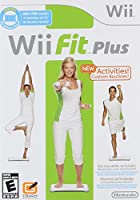 Requires Wii Balance Board   Know Your Physique: Wii Fit Plus will now allow you to check and monitor 4 areas of your physique, BMI (body mass index), centre of gravity, and calories burnt during your workout you can then set your goals, against the...