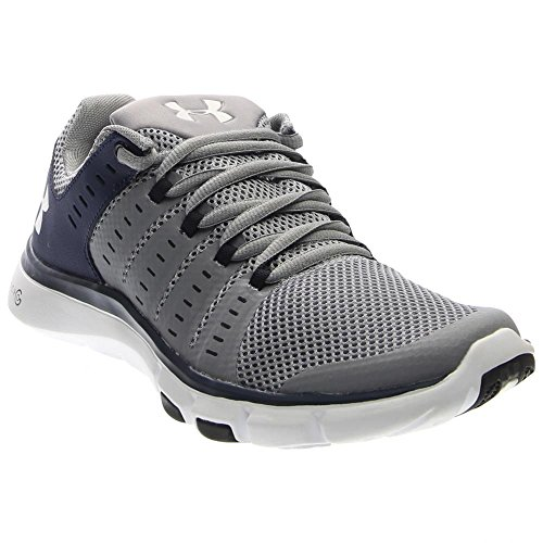 Under Armour Men\'s Micro G Limitless 2 Team Training Shoe (Steel/Midnight Navy/White, 8 D(M) US)