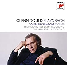 Glen Gould Plays Bach:Goldberg Variations Bwv 988-The Historic 1955 Debut Recording