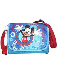 Mickey - Sac bandoulière à rabat Mickey bleu