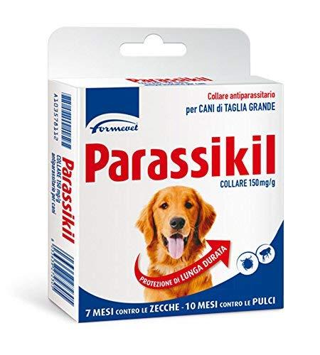 Formevet - Parassikil - Collar antiparasitario, para perros de talla grande, contra...