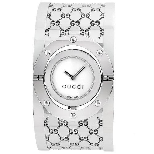 Gucci - YA112413 - Montre Femme - Bracelet en Acier Inoxydable