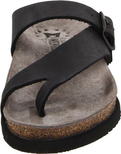 Mephisto Womens Helen Leather Sandals Schwarz