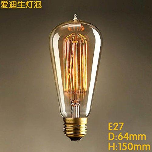 Moderna Lámpara De Pared Para Sala De Estar Retro Creativo Edison Bombilla 25W40W60W Araña Lámpara...