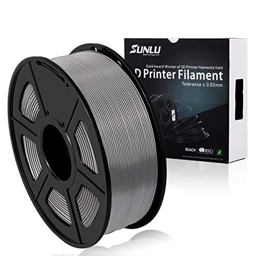 Filamento PLA Plus de la impresora SUNLU 3D, filamento PLA de 1.75 mm, filamento de impresión 3D de...