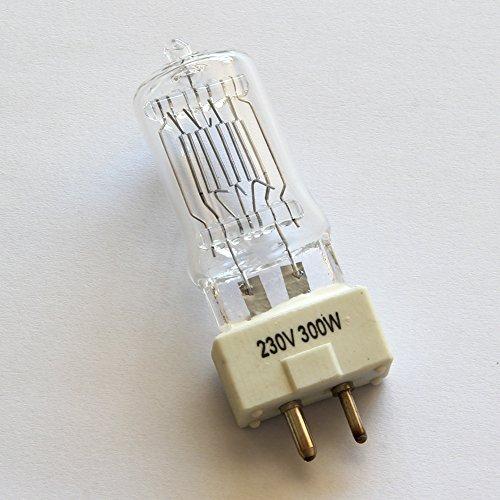 top-fotos 300W, lampada alogena al quarzo gy9.5,220V