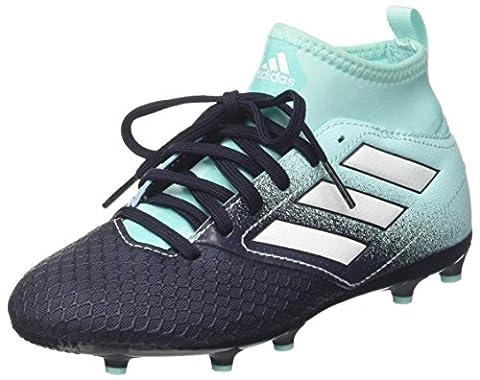 adidas Jungen Ace 17.3 Fg J Fußballschuhe, Mehrfarbig (Energy Aqua /ftwr White/legend Ink ), 37 1/3 (Fussballschuhe Jungen)