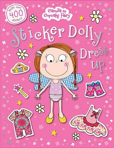 Camilla the Cupcake Fairy Sticker Dolly Dress Up -