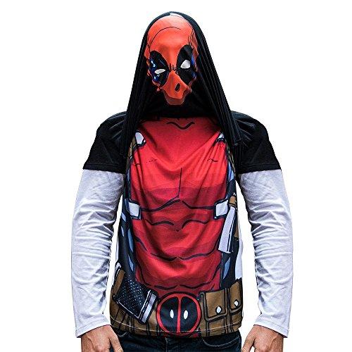 Deadpool Longsleeve M - Deadpool Ryan Reynolds Kostüm