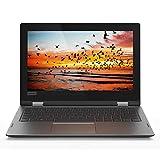 Lenovo YOGA 330-11IGM Notebook Convertibile con Display da 11.6'' HD TN AG Touch (Slim), Processore Intel Celeron N4000, RAM 4 GB, Scheda Grafica Integrata, Windows 10, Onyx Black
