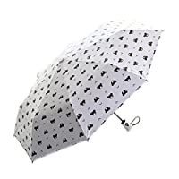 Umbrella Automatic JUDUMAO Lightweight Windproof Umbrella Folding Compact Travel Anti-UV Umbrella One Button Auto Open and Close,Reinforced Frame Slip-Proof Handle for Easy Carrying